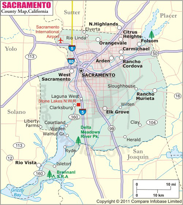 Major Cities Near Folsom Ca